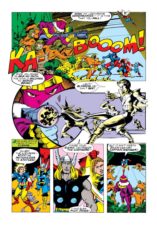 Captain America (1968) Issue #221 #135 - English 16