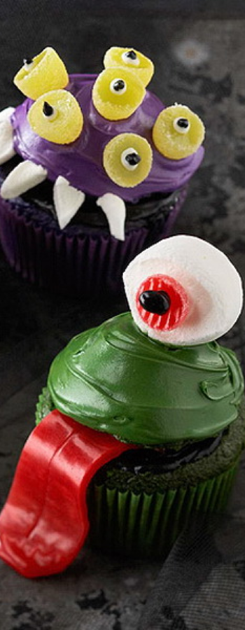 Wickedly Fun Halloween Cupcakes