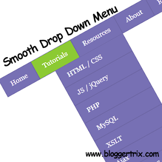 Css3+Smooth+Drop+Down+Menu+Bar+For+Blogger