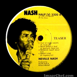 NEVILLE NASH - Perfect Love