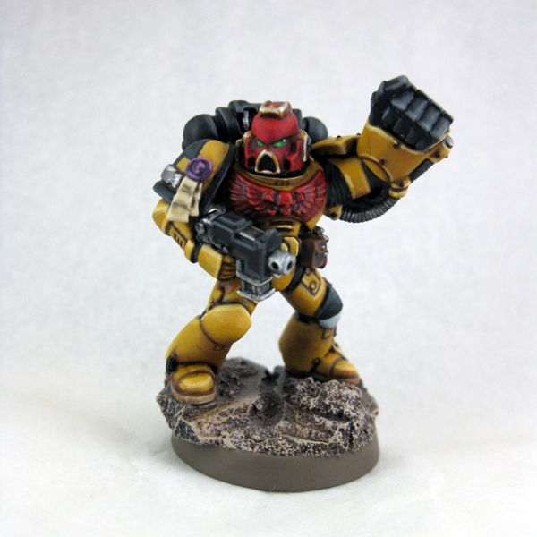 40k giveaway imperial fists sergeant - Imperial fists 40k ...