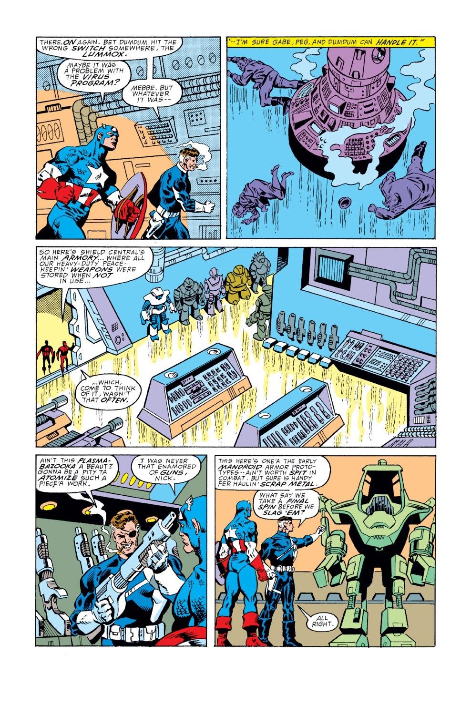 Captain America (1968) Issue #351 #283 - English 15