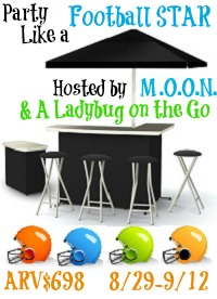 Party Like a Football Star Blogger Opp, Signup by 8/26
