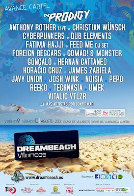 DREAMBEACH Villaricos 2013 festival