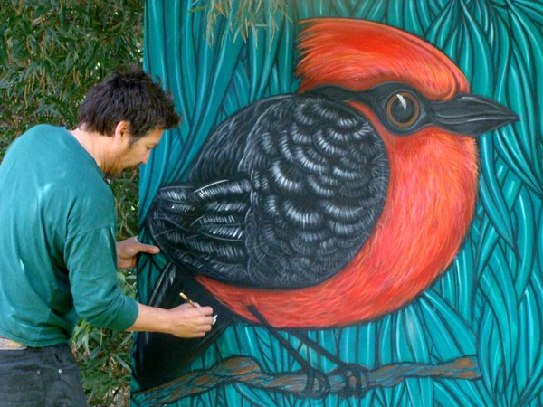 pintando churrinche