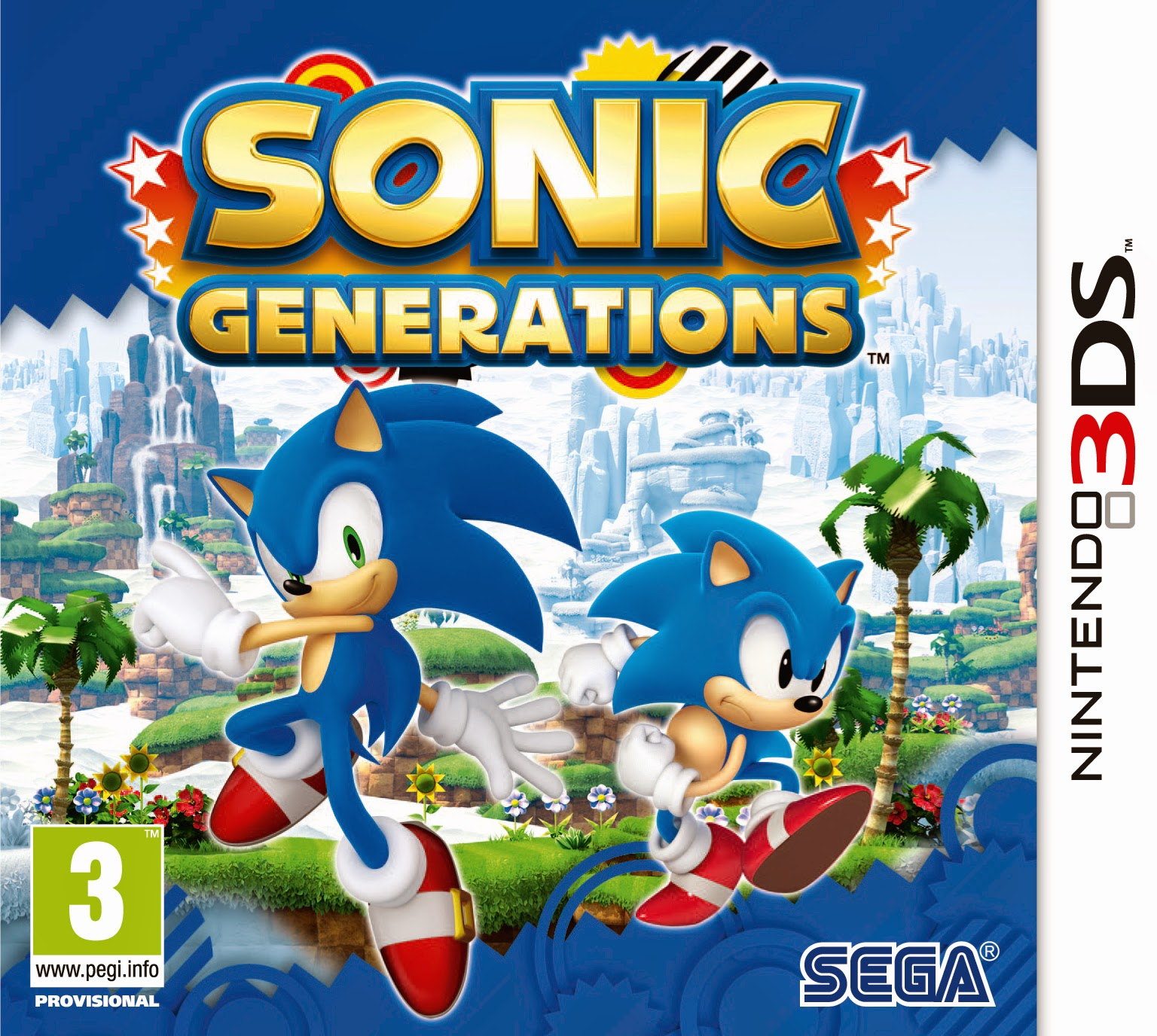 3DS Sonic Generations Cover