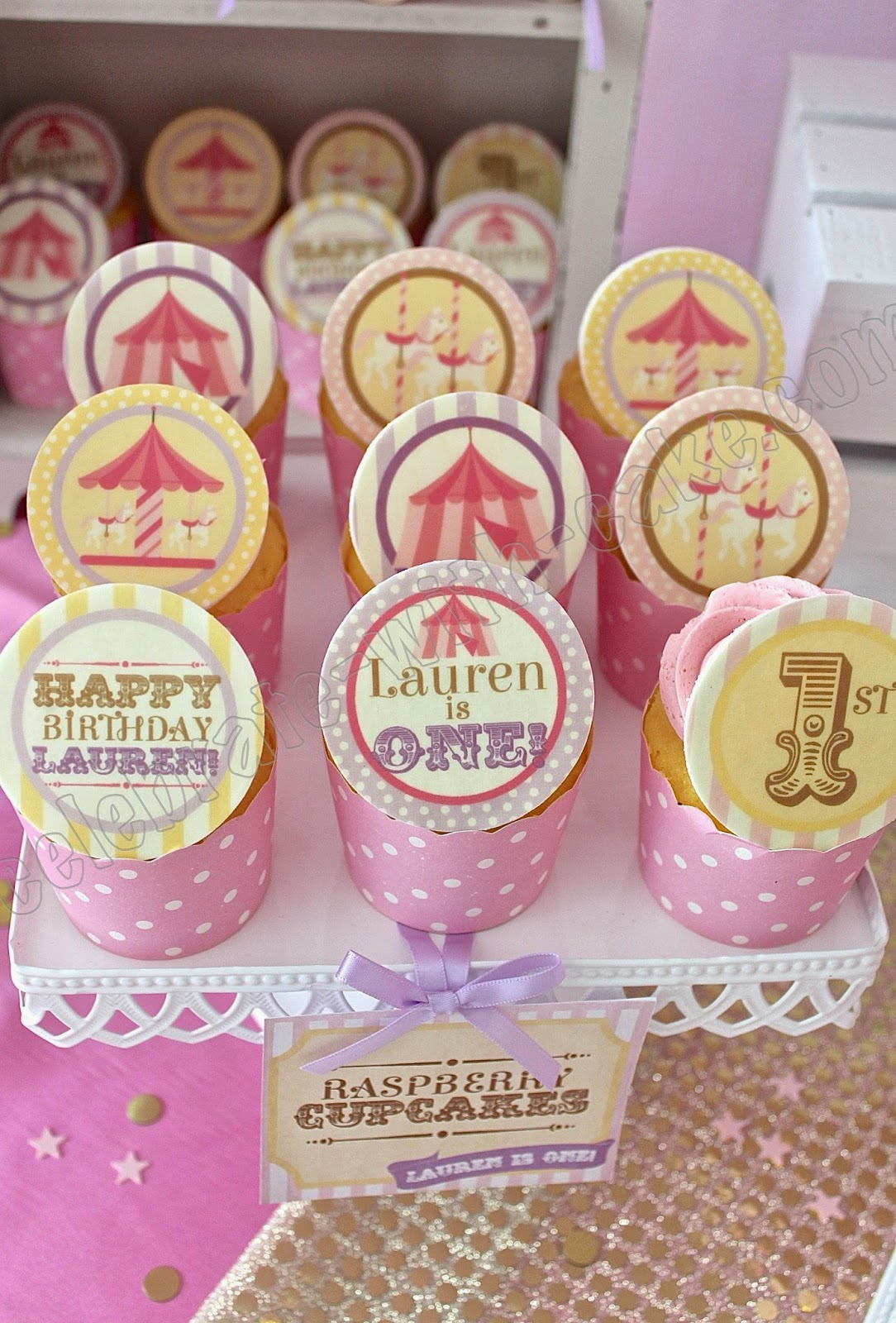 Celebrate with Cake!: Carnival themed Dessert Table (click post to ...