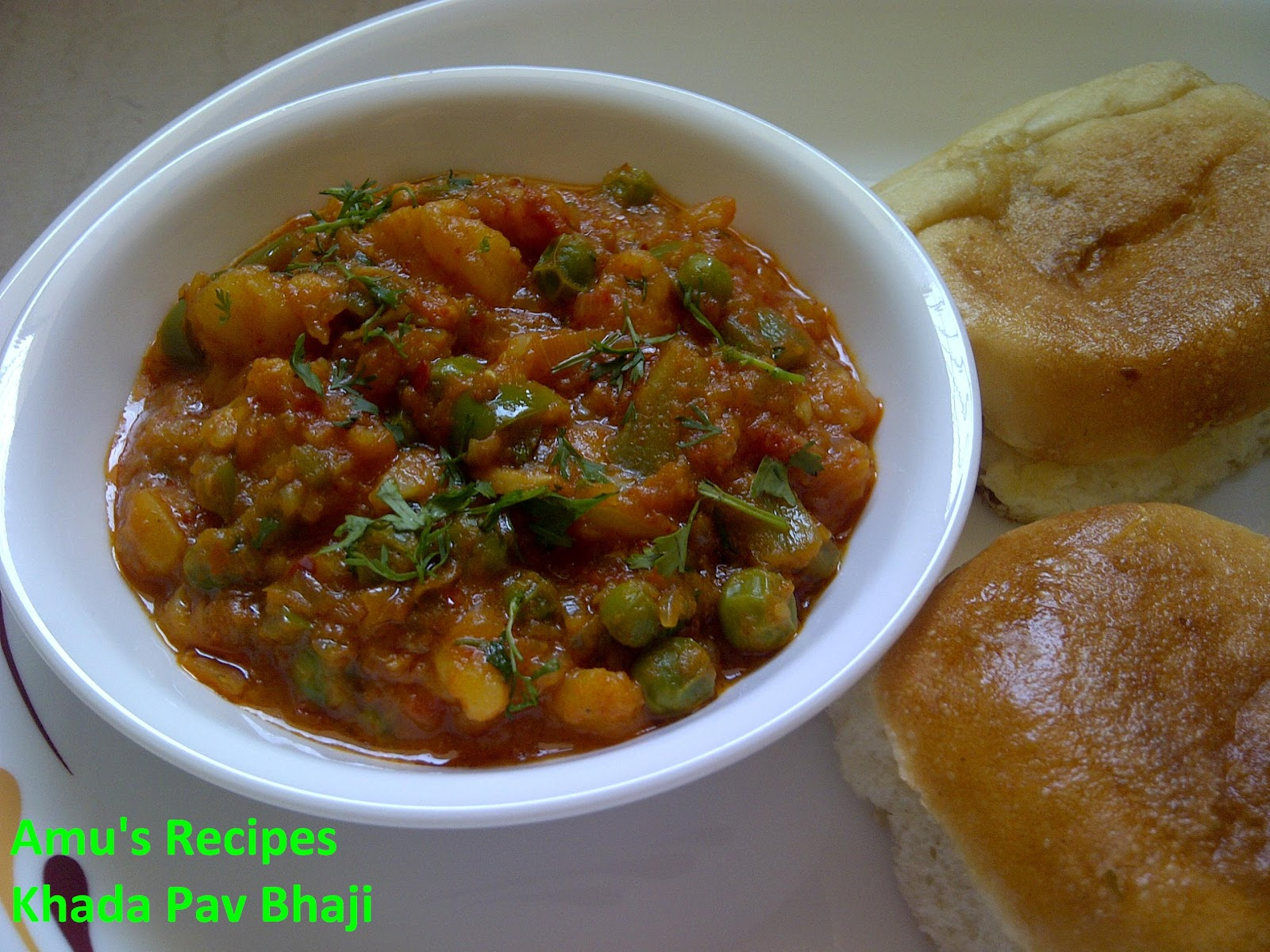 Amus recipes khada pav bhaji forumfinder Image collections