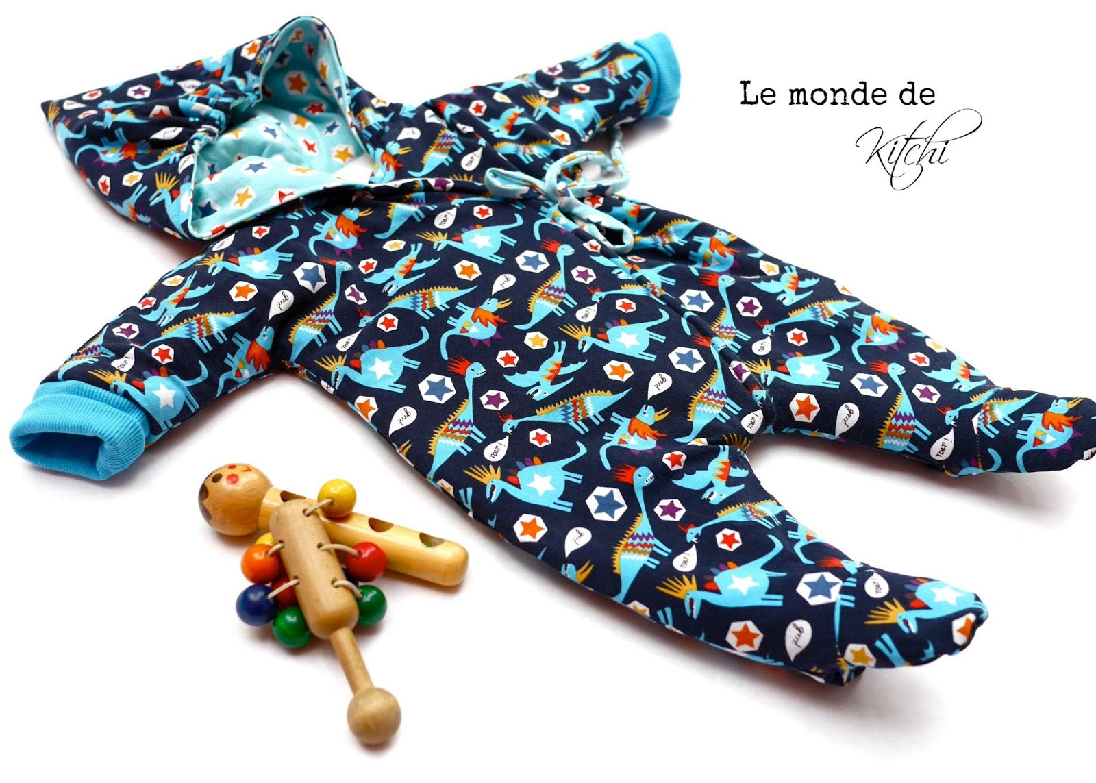 Le monde de Kitchi: Babyoverall/ One pin a week # 9