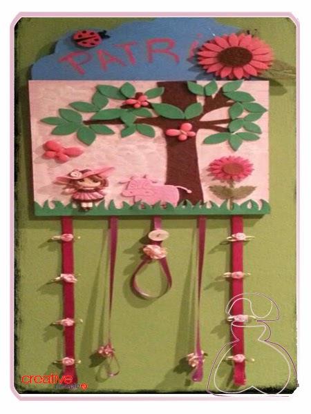 Porta-Diademas de Sylvia Lopez Morant para El Jardín del Edén