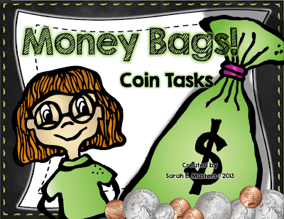 http://www.teacherspayteachers.com/Product/Money-Bags-Differentiated-Money-Activity-Money-Math-Center-1098807