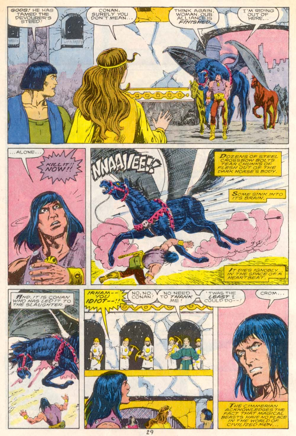 Conan the Barbarian (1970) Issue #209 #221 - English 22