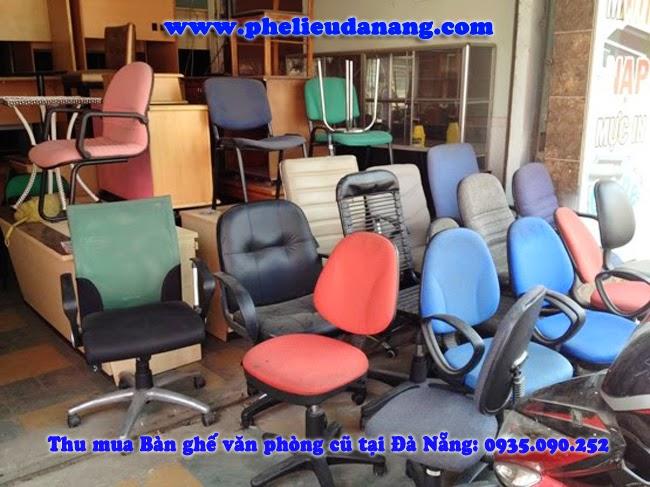 Nhận thu mua bàn ghế văn phòng cũ giá cao