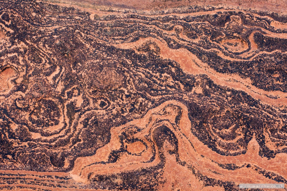 Sandstone patterns Corrie