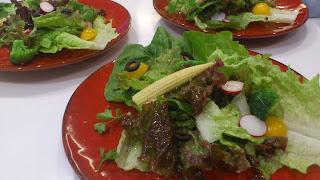 千駄ヶ谷・北参道・神宮前に出張シェフ:彩り野菜のヘルシーサラダ