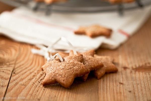 Weihnachtskekse Zimt und Zucker Rezept Post aus meiner Küche