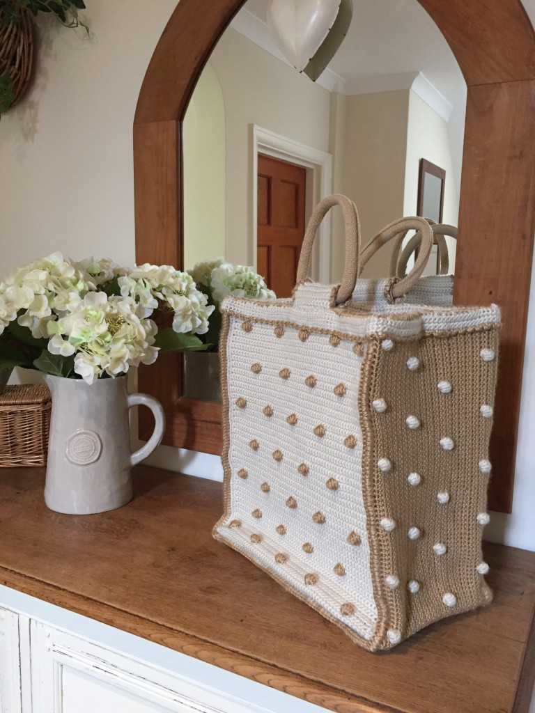 Bobbly Tote Shopper