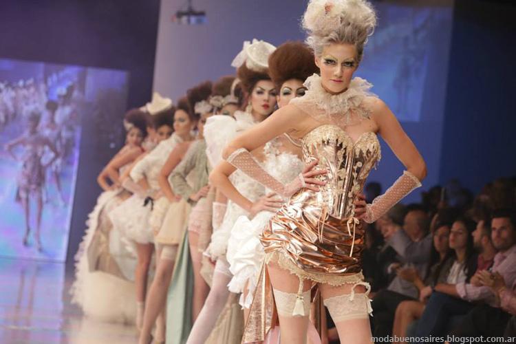 Moda Argentina Fashion Week. BAAM 40 otoño invierno 2014, desfile colección de Verónica de la Canal.