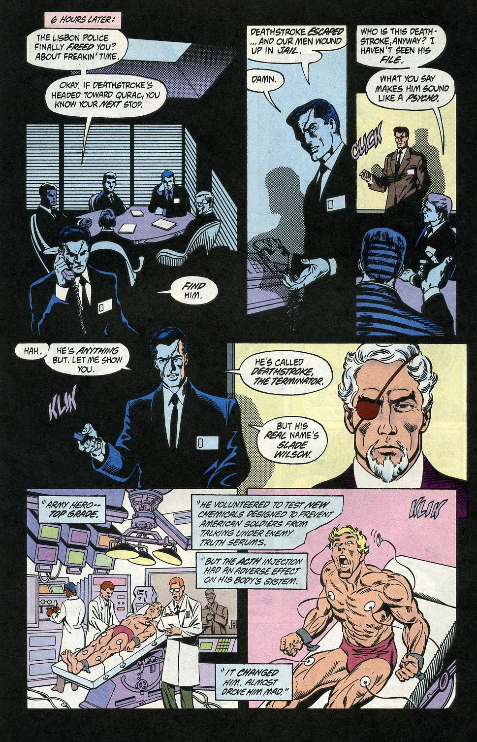Deathstroke (1991) Issue #2 #7 - English 28