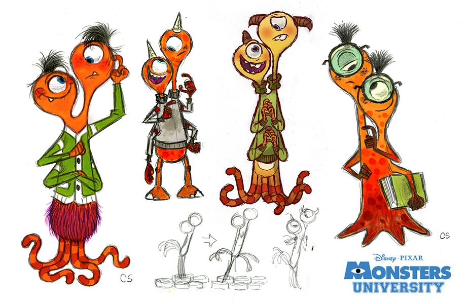 Character Design University : Pixar post june