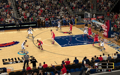 NBA 2K13 Hawks Philips Arena Court Patch