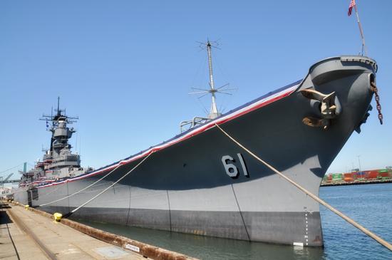 Battleship Iowa by Lady by Choice