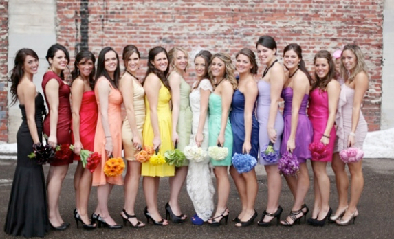 Bright Spring Wedding Colors
