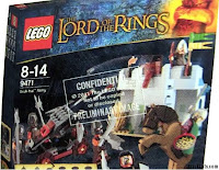 Lego the Lord of the Rings Box siege of helms deep, uruk hai, theoden