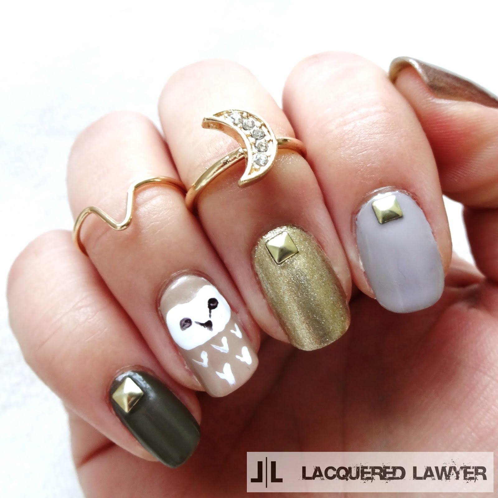 Lacquered Lawyer | Nail Art Blog: Neutral Nocturnal