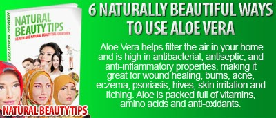 6 Naturally Beautiful Ways to Use Aloe Vera