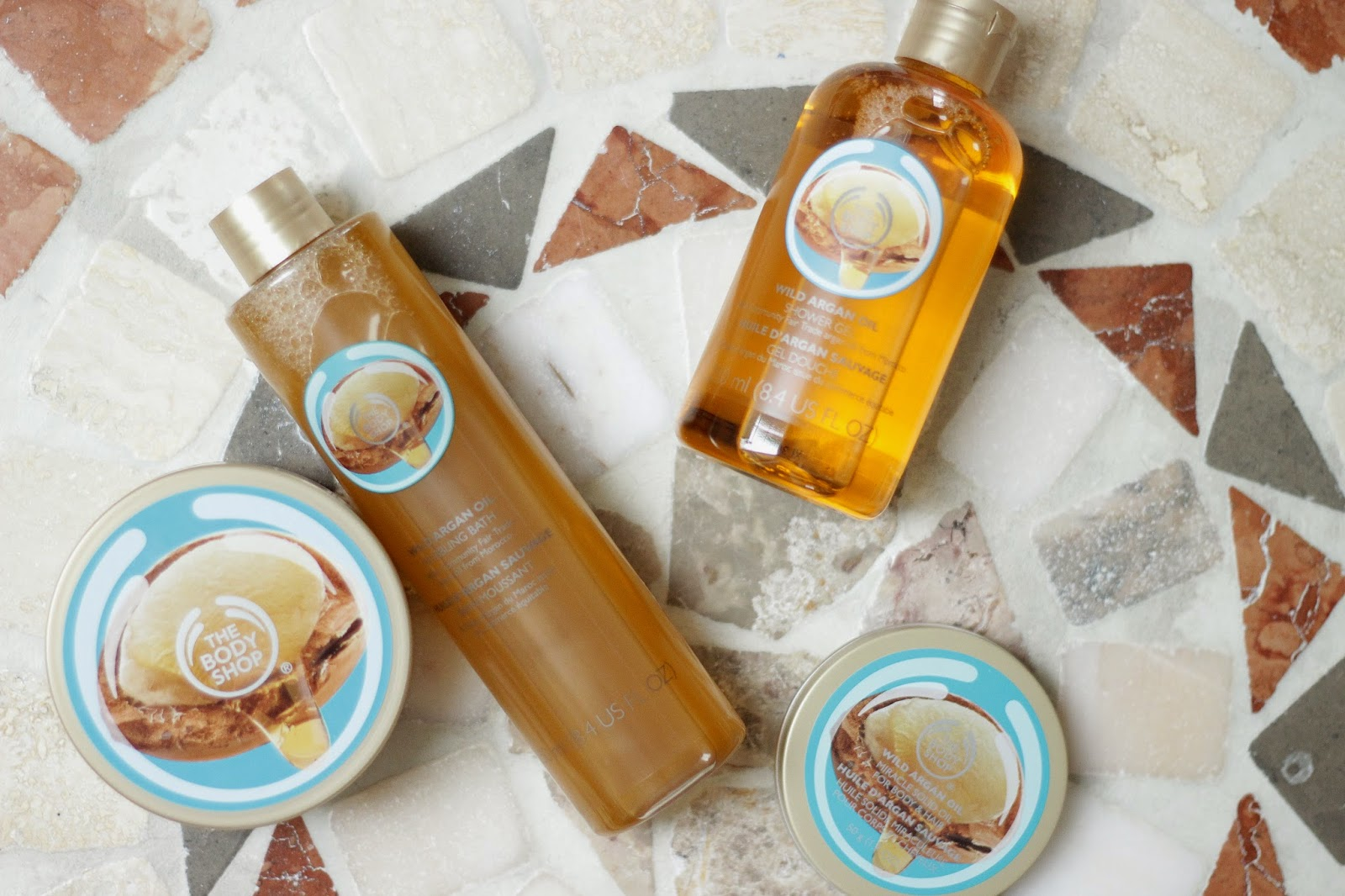 review ervaring the body shop wild argan oil lijn, review ervaring the body shop wild argan oil bubbling bath   miracle solid oil