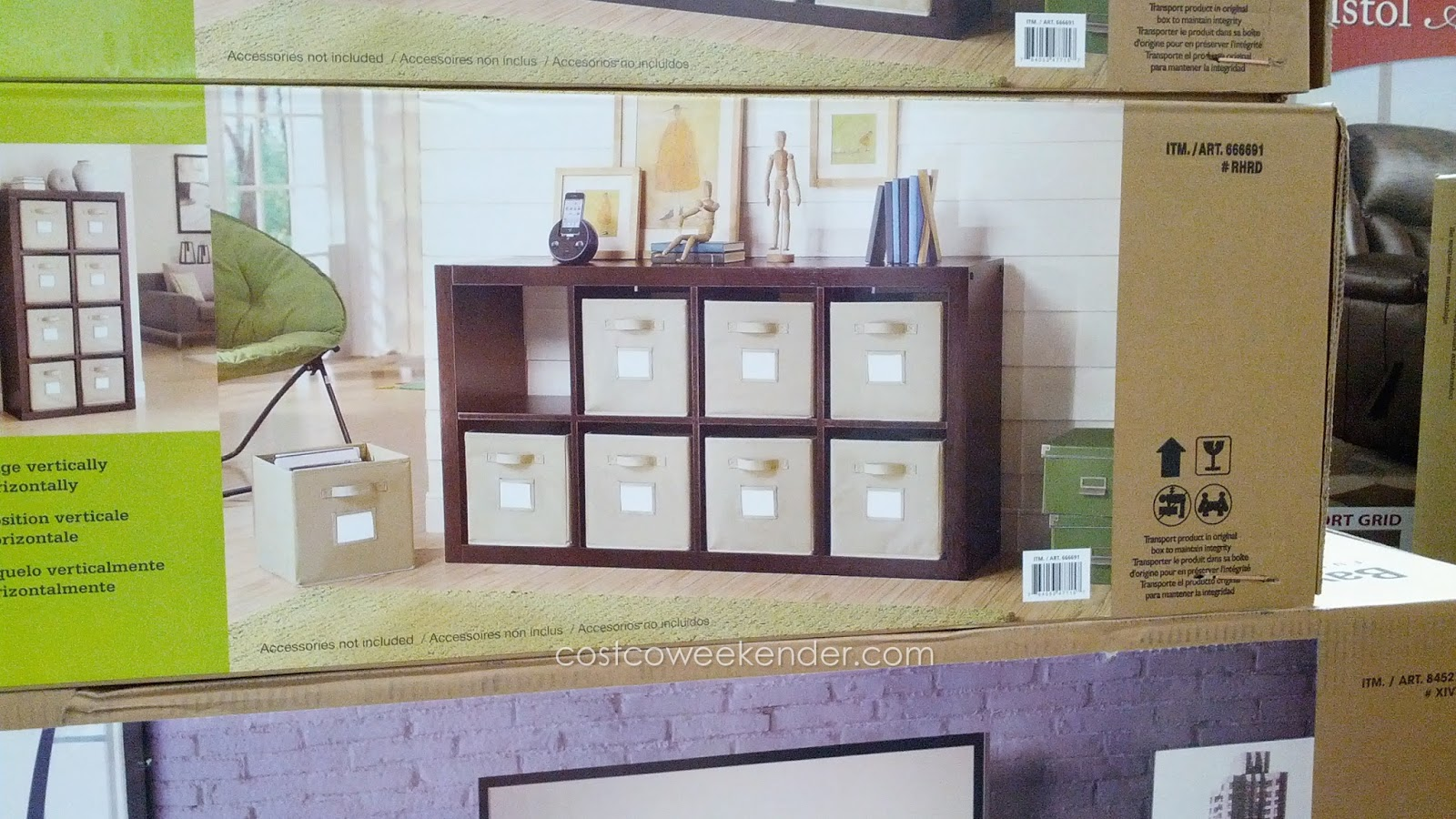 Bayside Furnishings Onin Room Divider Costco Weekender