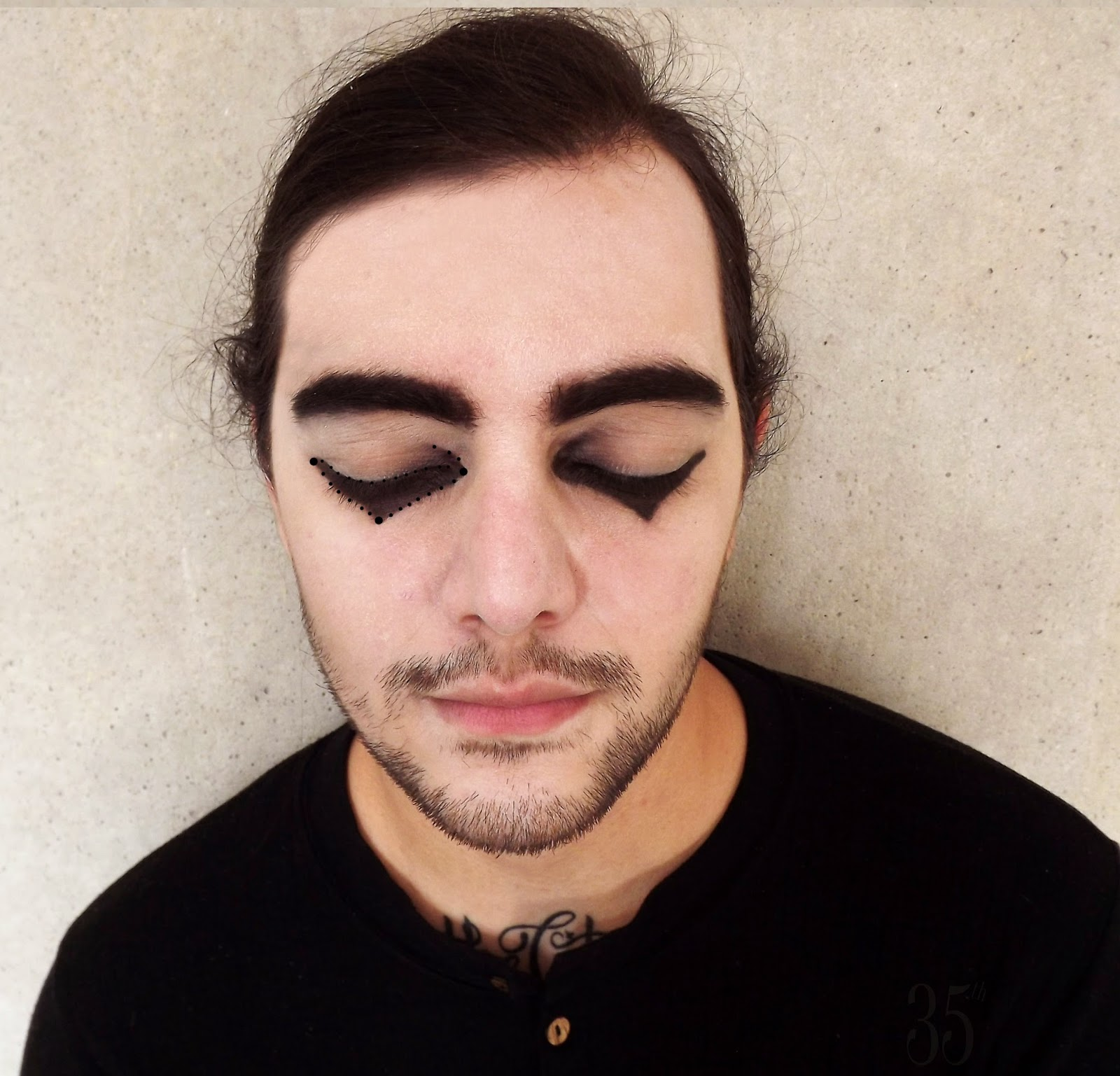 Cesare the Somnambulist Makeup Tutorial