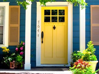 Gambar Desain Pintu Rumah Bermacam Warna