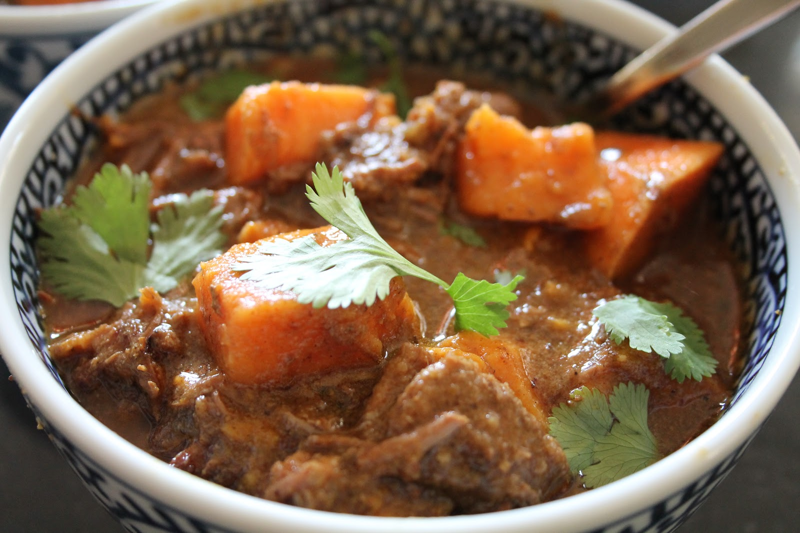 Friday Night Cooking - Slow-Cooked Beef and Sweet Potato Curry | I Am ...