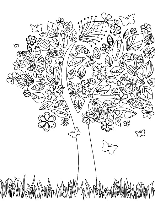Free Printable Coloring Pages!