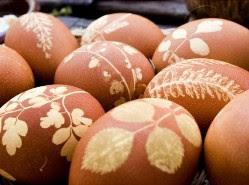 Kerajinan Tangan Telur Hias