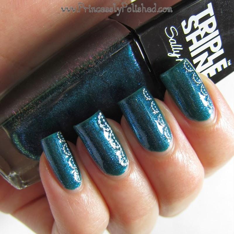Princessly Polished: Sally Hansen: Sparkling Water #TripleShine Nail ...