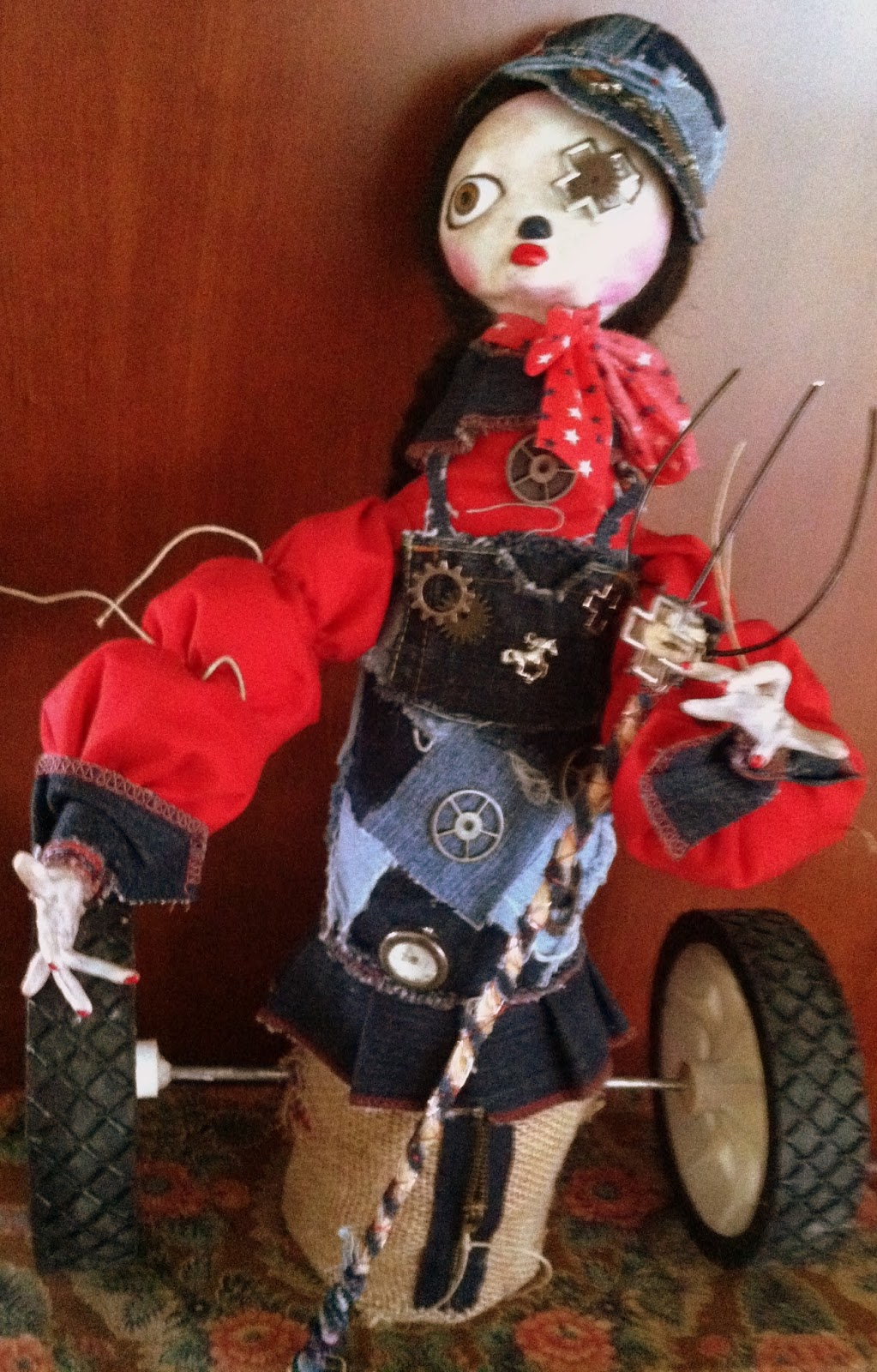 Farmchic Steampunk Doll