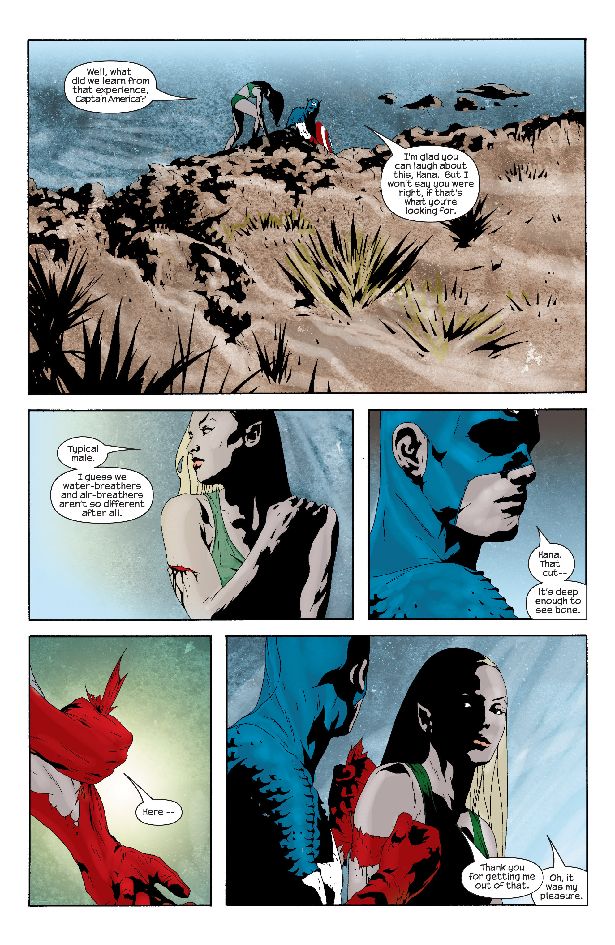 Captain America (2002) Issue #15 #16 - English 18