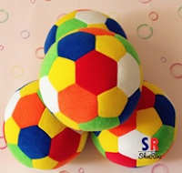 Buy ShaRivz Set of 4 Small & Soft Football at Flat 58%Off:buytoearn