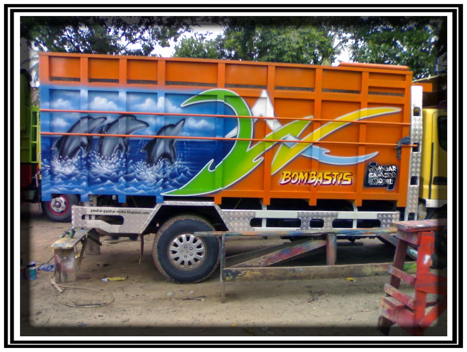 foto mobil truk variasi