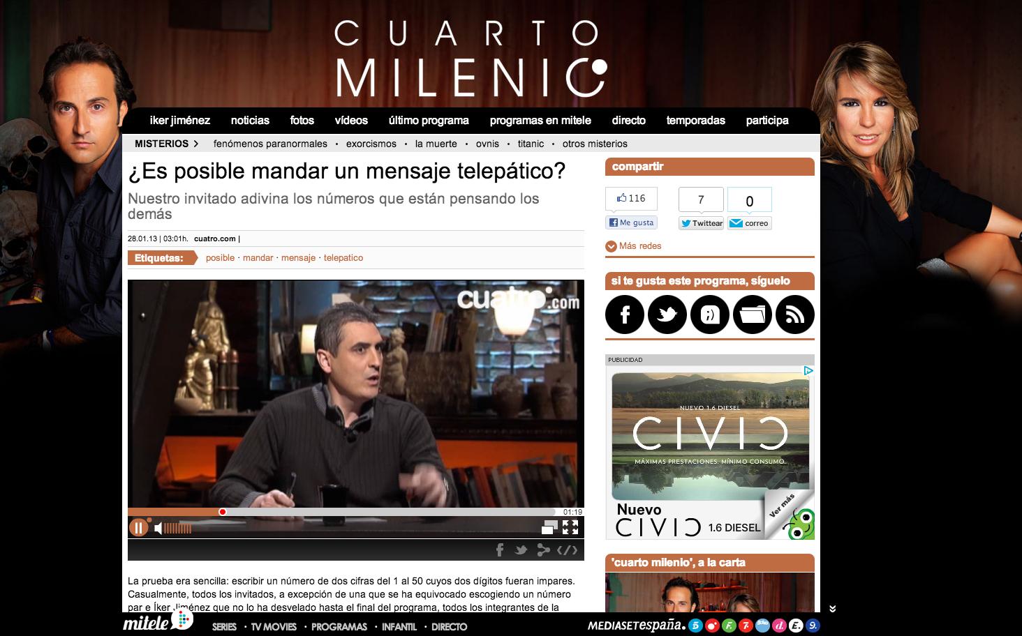 El retorno de los charlatanes: Ramón Campayo, Íker Jiménez y el ...