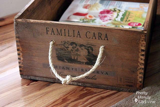 Jackie Fo Wooden Wine Crates Diy