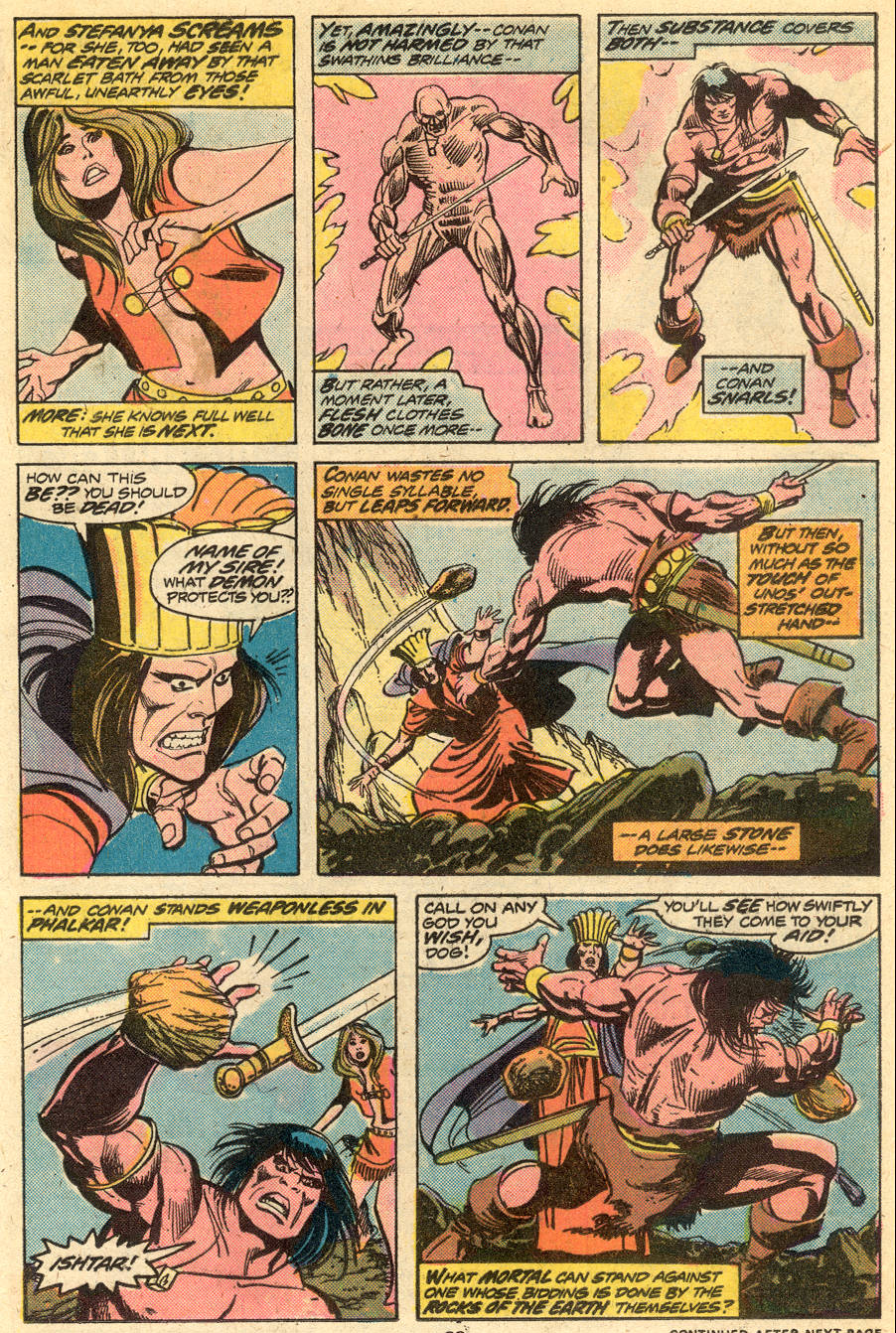 Conan the Barbarian (1970) Issue #51 #63 - English 15