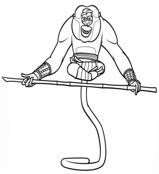 kung fu panda coloring pages free printable - kung fu panda 1 coloring pages
