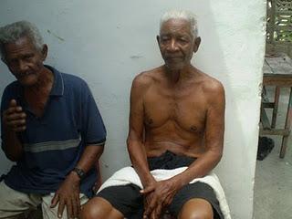 Don Felino Rocha, uno de los fundadores del Barrio La Playa