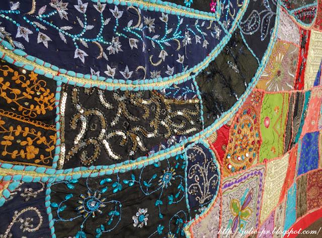 Nepal, Kathmandu, Непал, Катманду, вышивка, крейзи-квилт