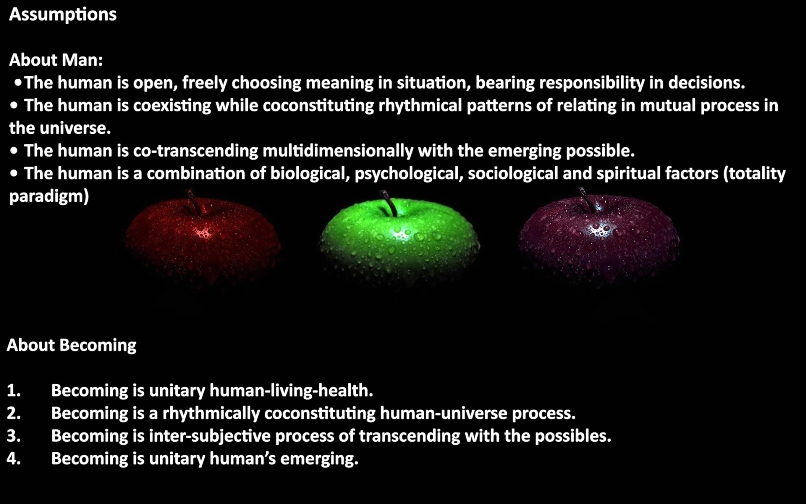 theory of human becoming A theory, in the broad sense of the term, is a complex of opinions, concepts, and ideas aimed at the interpretation and explanation of some phenomenon.
