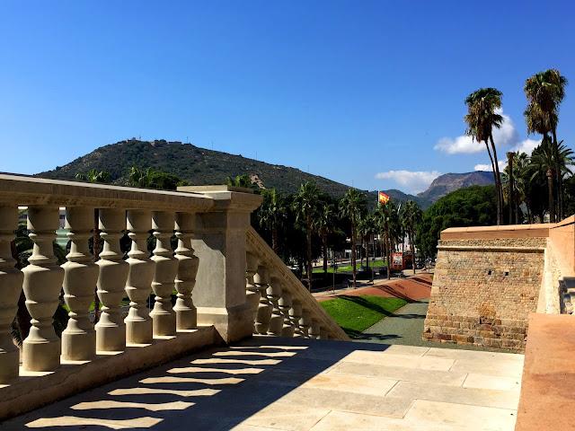 Cartagena, widok z murów obronnych